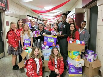 Catholic High Diaper Drive
