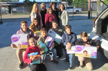 SPC Youth Group Diaper Drive