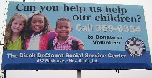 Can you help us help our children? Call 337-369-6384 to donate or volunteer.